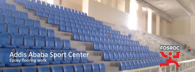 Addis Ababa Sport Center Epoxy Flooring work