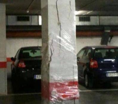 Image of crack solution...