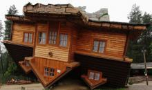 Upside down House Szymbark, Poland image