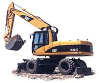 Image of Caterpillar Excavator Crawler type 320CL.