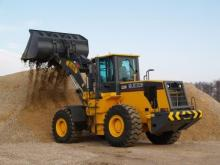 XCMG Wheel Loader with Reinforced Bucket.