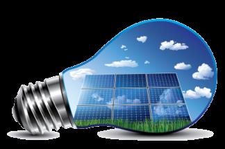 Image showing solar energy llight bulb