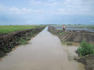 Megech irrigation project image