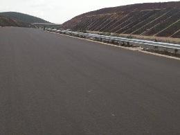 New asphalt road image