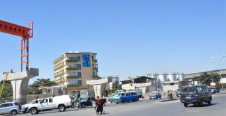 Image of the demolished part of the Addis-Modjo Edible Oil Complex located on Debre Zeit road, near the Gotera Interchange