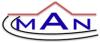 Man General Contractor Logo.